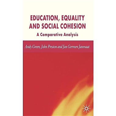 Education, Equality and Social Cohesion