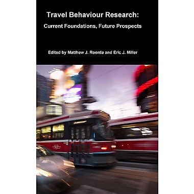 Travel Behaviour Research: Current Foundations, Future Prospects