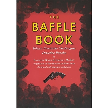The Baffle Book: Fifteen Fiendishly Challenging Detective Puzzles