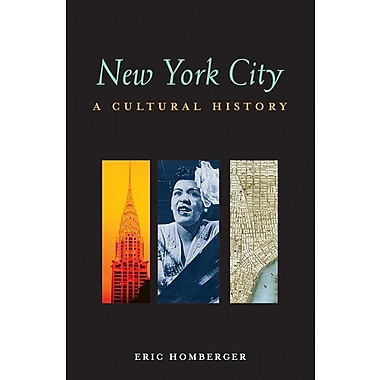 New York City: A Cultural History