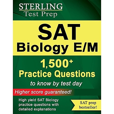 Sterling SAT Biology E/M Practice Questions: High Yield SAT Biology E/M Questions