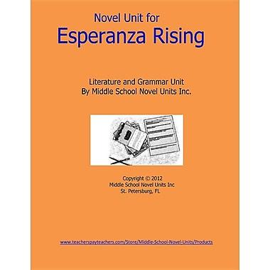 Novel Unit for Esperanza Rising: A Complete Literature and Grammar Unit for Grades 4-8