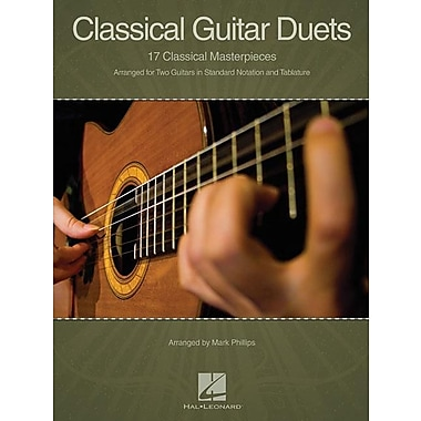 Classical Guitar Duets: 17 Classical Masterpieces