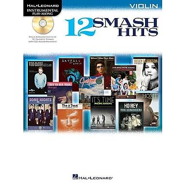 12 Smash Hits: Violin [With CD (Audio)]