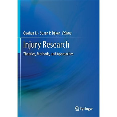 Injury Research: Theories, Methods, and Approaches