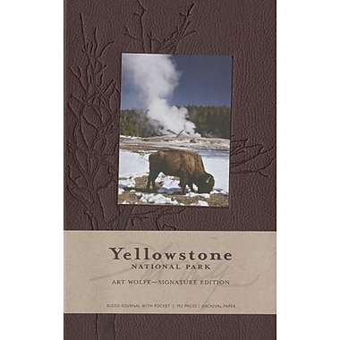 Yellowstone National Park Hardcover Ruled Journal (Large): Art Wolfe Signature Edition