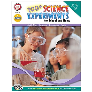 100+ Science Experiments for School and Home