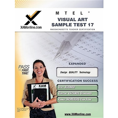 Mtel Visual Art Sample Test 17 Teacher Certification Test Prep Study Guide