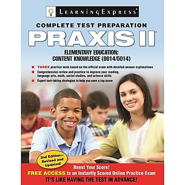 Praxis II: Elementary Education Content Knowledge (0014 and 5014)