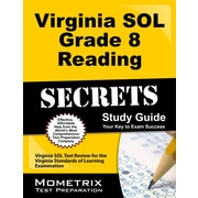 Virginia SOL Grade 8 Reading Secrets: Virginia SOL Test Review for the Virginia Standards of Learning Examination
