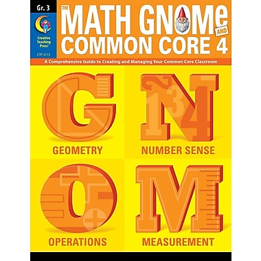 3rd Grd Math Gnome & Common Core Four
