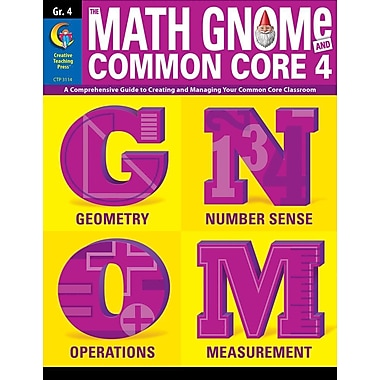 4th Grd Math Gnome & Common Core Four