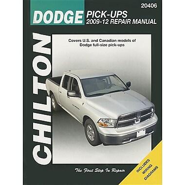 Chilton Dodge Pick-Ups 2009-12 Repair Manual