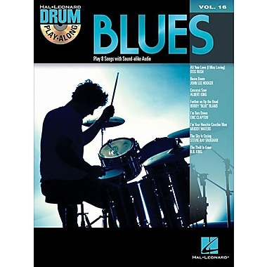 Blues: Drum Play-Along Volume 16