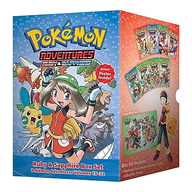 Pokemon Adventures Ruby & Sapphire Box Set: Includes Volumes 15-22