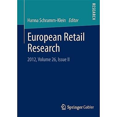 European Retail Research: 2012, Volume 26, Issue II