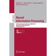 Neural Information Processing: 20th International Conference, Iconip 2013, Daegu, Korea, November 3-7, 2013. Proceedings, Part I