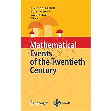 Mathematical Events of the Twentieth Century