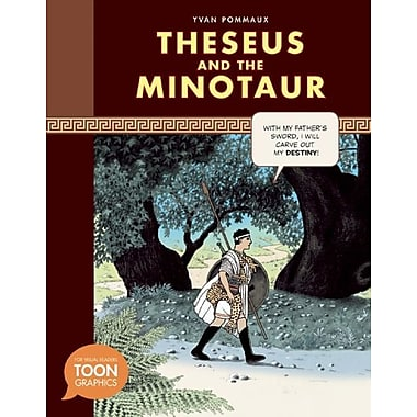 Theseus and the Minotaur (a Toon Graphic)