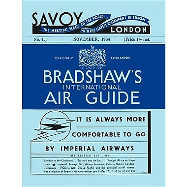 Bradshaw's International Air Guide, No. 1