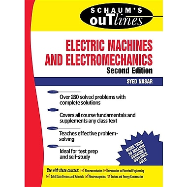 Schaums Outline Electric Machi