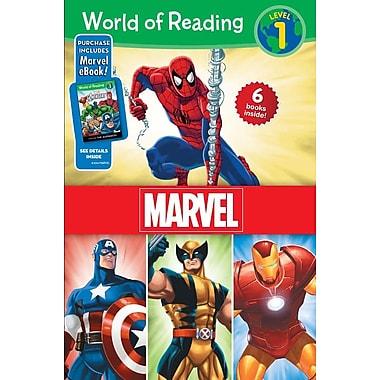 World of Reading Marvel Boxed Set, Level 1