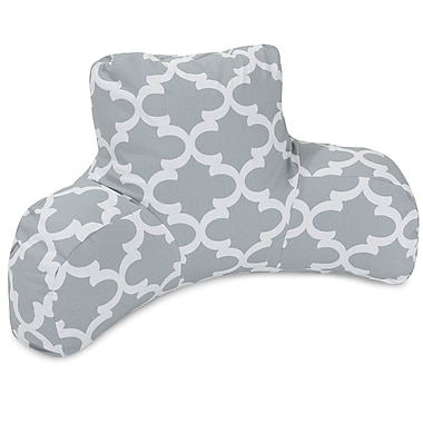Majestic Home Goods Trellis Cotton Bed Rest Pillow