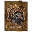 American Expedition Wooden Wall Clock