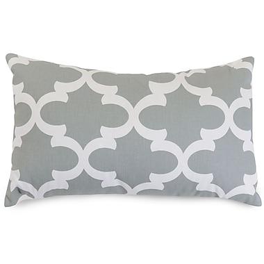 Majestic Home Goods Trellis Cotton Lumbar Pillow