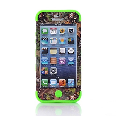 IPM Camouflage RealTree Rugged Protective Case for iPhone 5c, Green