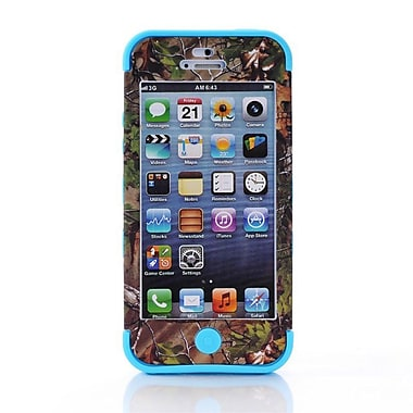 IPM Camouflage RealTree Rugged Protective Case for iPhone 5c, Light Blue