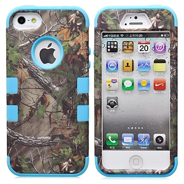 IPM Camouflage RealTree Rugged Protective Case for iPhone 5/5s, Light Blue