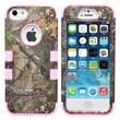 IPM Camouflage RealTree Rugged Protective Case for iPhone 5/5s, Pink