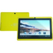 "Worryfree Gadgets Zeepad 7DRK-Rock, 7"" Tablet, 8 GB, Android Jelly Bean, Wi-Fi, Yellow"