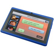 "Worryfree Gadgets Zeepad 7DRK-Rock, 7"" Tablet, 8 GB, Android Jelly Bean, Wi-Fi, Blue"