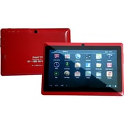 "Worryfree Gadgets Zeepad 7DRK-Rock, 7"" Tablet, 8 GB, Android Jelly Bean, Wi-Fi, Red"