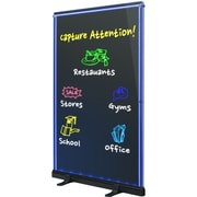 Royal Sovereign® Double Sided Rewritable LED Sign Board