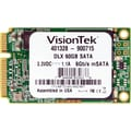 VisionTek® 60GB 2 1/2in. mSATA DLX (6Gb/s) Micron Onfi Asyncronous MLC Internal Solid State Drive (SSD)