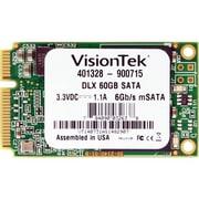 VisionTek® 60GB 2 1/2 mSATA DLX (6Gb/s) Micron Onfi Asyncronous MLC Internal Solid State Drive (SSD)