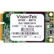 """VisionTek® 120GB 2 1/2"""" mSATA DLX (6Gb/s) Micron Onfi Asyncronous MLC Internal Solid State Drive (SSD)"""