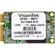 VisionTek® 240GB 2 1/2 mSATA DLX (6Gb/s) Micron Onfi Asyncronous MLC Internal Solid State Drive (SSD)