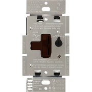 Lutron Single Pole/3-Way AYCL-153P-BR CFL-LED Dimmer, Brown