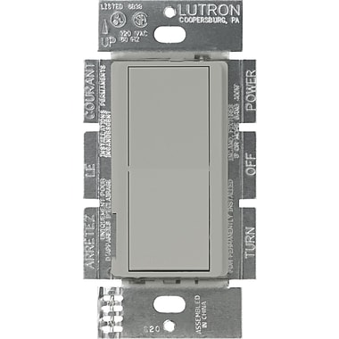 Lutron Diva CA-1PS-GR Switch, Gray