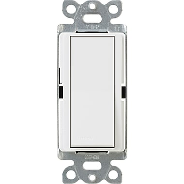 Lutron Diva CA-1PSNL-WH Single Pole Switch with Locator Light, White