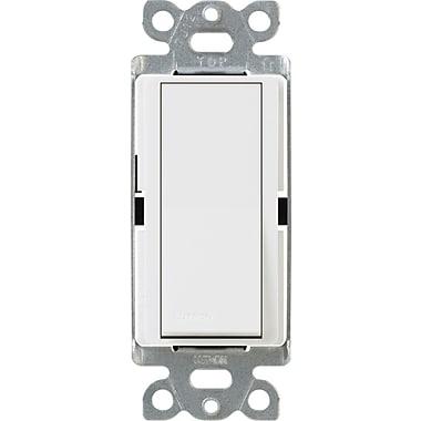 Lutron Diva CA-3PSNL-WH 3-Way Switch with Locator Light, White