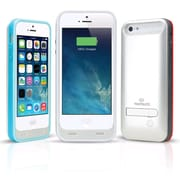 Naztech Apple Certified 2400mAh PowerCase w/ Kickstand for Apple 5/5s, White