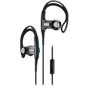 Sports Vibz Premium Athletic Headphones, Black