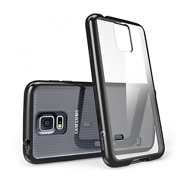 i-Blason Samsung Galaxy S5 Case, Clear Scratch Resistant Series with TPU Bumper, Clear / Black