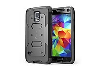 i-Blason Samsung Galaxy S5 Case - Armorbox Series Dual Layer Hybrid Hard / Soft Protective Case