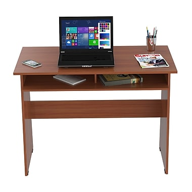 Inval America 31.5'' Student Desk with Book Box, Cedar (ES6503)